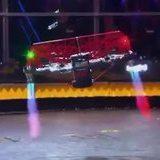 battlebot takes down drone