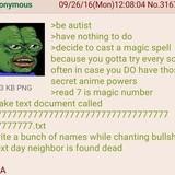 Robot has anime powers