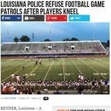 Police Refuse Football Game Patrols