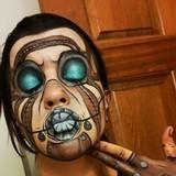 Amazing Psycho Makeup
