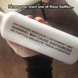Dihydrogen monoxide.....